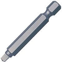 Trend Snappy Square Robertson Screwdriver Bits R1 Square 50mm Pack of 3