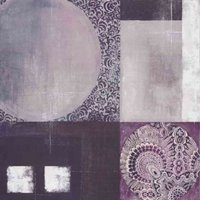 Arthouse Art Purple Printed Abstract, 000322