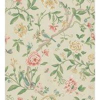 Sanderson Wallpapers Porcelain Garden Red/Beige, DCAVPO104