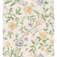 Sanderson Wallpapers Porcelain Garden Lemon/Leaf Green, DCAVPO105