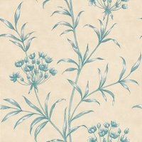 Zoffany Wallpapers Agapanthus Indigo, ZPAW04001