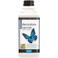 Polyvine Tools Polyvine Dead Flat Acrylic Decorators Varnish, HC4115N