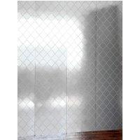 Erica Wakerly Wallpapers Argyle Silver white, ARG S/W
