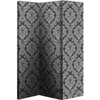 Arthouse Room dividers Black & Silver Damask Screen, 008109