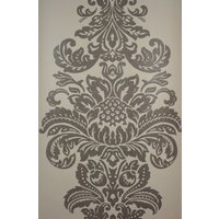 Kandola Wallpapers Damask Beaded Wallpaper crystallised, W1505/03/001