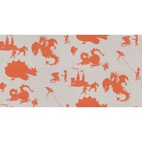 PaperBoy Wallpapers Ere-be-dragons Taupe, EBD Taupe