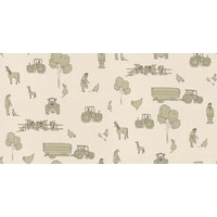 Katie Bourne Interiors Wallpapers Cluck a Doodle Farm , 6D Cluck