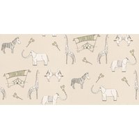 Katie Bourne Interiors Wallpapers Merry Go Circus, 1H Merry