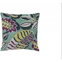 Sanderson Cushions Fitzroy Mauve/Yellow Cushion, 251502