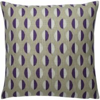 Sanderson Cushions Ellipse Plum/Gold Cushion, 251807