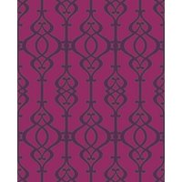 Sophie Conran Wallpapers Balustrade Claret, 950600