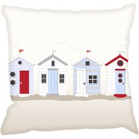 Digetex Cushions Beach Huts Cushion, Beach Huts