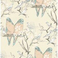 Belynda Sharples Wallpapers Budgie, AOW-BUDGIE 02