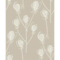 Earth Inke Wallpapers Teasels - Cream Tea, TSL5
