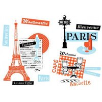 Caselio Stickers French Touch, STH6171 41 63