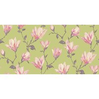 Arthouse Wallpapers Lotus Green/Pink, 632102