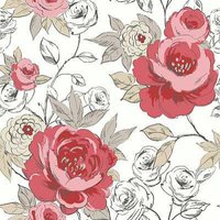 Arthouse Wallpapers Cassi Red , 640902