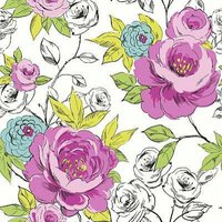 Arthouse Wallpapers Cassi Pink/Teal, 640904