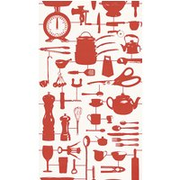 Graduate Collection Wallpapers Airfix Kitchen Red, 32826