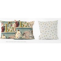 Emma Bridgewater Cushions The Dresser cushion - Duck Egg House, 10005