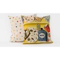 Emma Bridgewater Cushions The Dresser cushion - Lion Yellow Rice, 10011