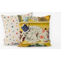 Emma Bridgewater Cushions The Dresser cushion - Lion Yellow Big Love Blue, 10010