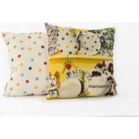 Emma Bridgewater Cushions The Dresser cushion - Lion Yellow Keys, 10012