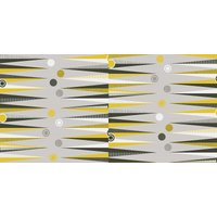 Mini Moderns Wallpapers Backgammon , AZDPT020 Mustard