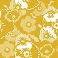 Mini Moderns Wallpapers Alice , AZDPT011 Mustard