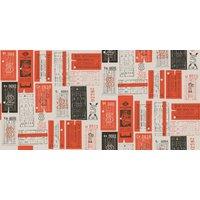 Mini Moderns Wallpapers Hold Tight , AZDPT017 Orange