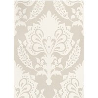 G P & J Baker Wallpapers Malatesta Damask Oyster, BW45056/1