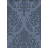G P & J Baker Wallpapers Malatesta Damask Indigo, BW45056/5