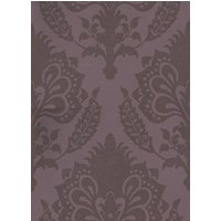 G P & J Baker Wallpapers Malatesta Damask Aubergine, BW45056/6