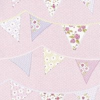 Albany Wallpapers Bunting Pink, 238716