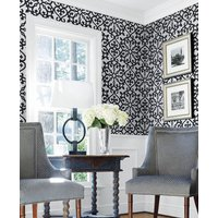 Thibaut Wallpapers Allison Black, T35177