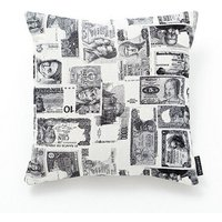 Albany Cushions Girones Billetes Blanco , Girones Billetes