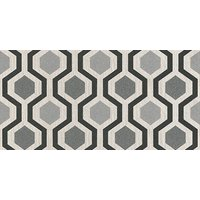 Albany Wallpapers Geo Black/Silver, 20133