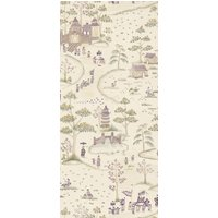 Nina Campbell Wallpapers Cathay Parade Magenta, NCW4180-01