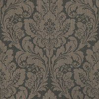Casadeco Wallpapers Damask Chocolate Brown, SMC2427 9324