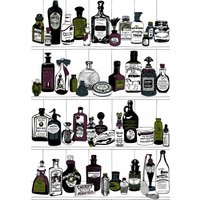Dupenny Wallpapers Potions Colour, POTIONS COLOUR