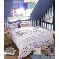 Roald Dahl Duvet covers Charlie & The Chocolate Factory Single Duvet Set, 451005