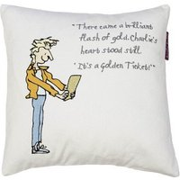 Roald Dahl Cushions Charlie and The Chocolate Factory Cushion, 451015