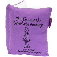 Roald Dahl Cushions Charlie & The Chocolate Factory Book Cushion, 451020