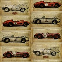 Sidney Paul & Co Wallpapers Racer Antique, SPW0010-02