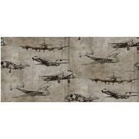 Sidney Paul & Co Wallpapers Flight Taupe, SPW0014-01