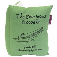 Roald Dahl Cushions The Enormous Crocodile Book Cushion, 453020