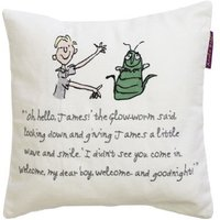Roald Dahl Cushions James Giant Peach Cushion, 455015