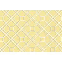 G P & J Baker Wallpapers Langdale Trellis Yellow, BW45071/5