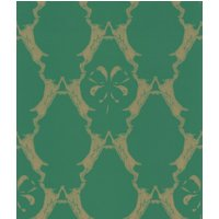 Barneby Gates Wallpapers Boxing Hares Billiard Green, BG0400101