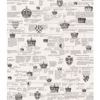 Timney Fowler Wallpapers Ancestral Linage Black & White, TFW201-01